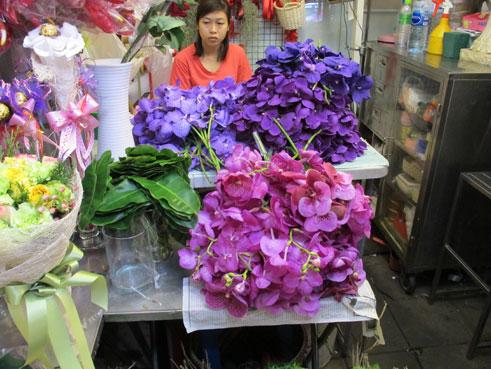 花ギフト|フラワーギフト|誕生日 花|カノシェ話題|スタンド花|ウエディングブーケ|花束|花屋|蘭5