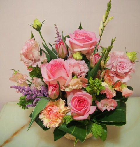 花ギフト|フラワーギフト|誕生日 花|カノシェ話題|スタンド花|ウエディングブーケ|花束|花屋|54087