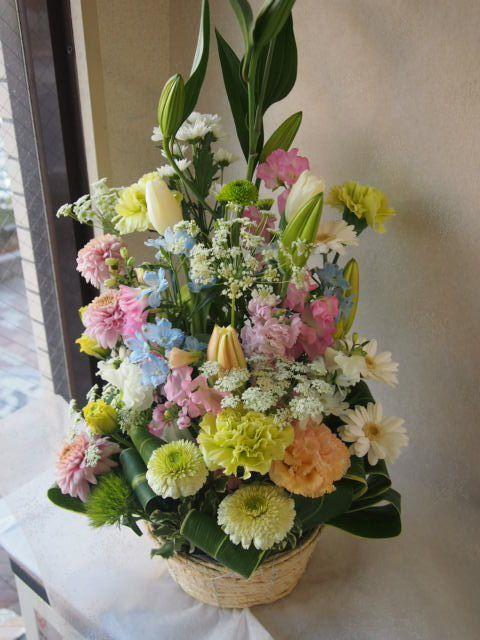 花ギフト|フラワーギフト|誕生日 花|カノシェ話題|スタンド花|ウエディングブーケ|花束|花屋|53798