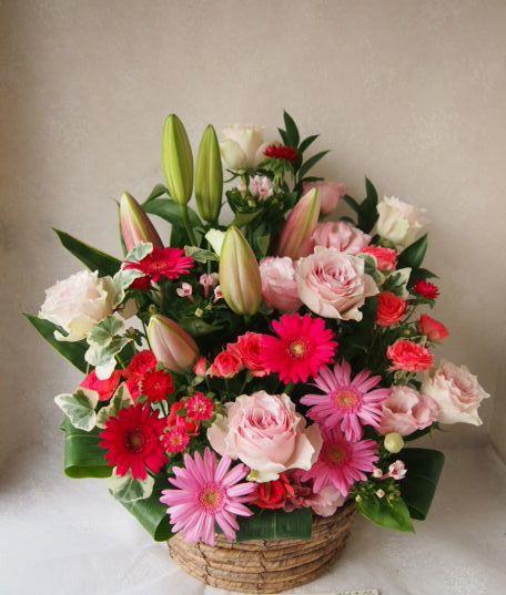 花ギフト|フラワーギフト|誕生日 花|カノシェ話題|スタンド花|ウエディングブーケ|花束|花屋|56961
