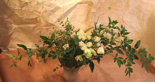花ギフト フラワーギフト 誕生日 花 カノシェ話題 スタンド花 ウエディングブーケ 花束 花屋 ゆかこさん そけい