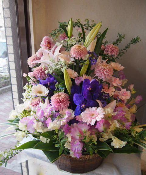 花ギフト|フラワーギフト|誕生日 花|カノシェ話題|スタンド花|ウエディングブーケ|花束|花屋|53268