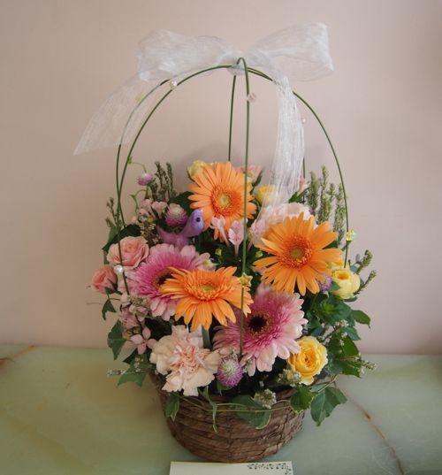 花ギフト|フラワーギフト|誕生日 花|カノシェ話題|スタンド花|ウエディングブーケ|花束|花屋|57999