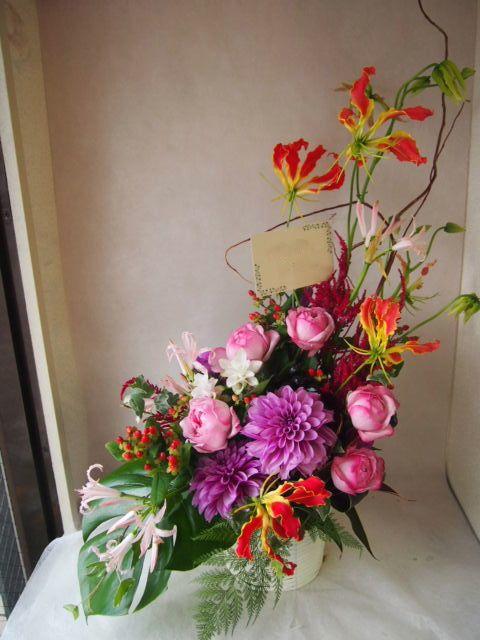 花ギフト|フラワーギフト|誕生日 花|カノシェ話題|スタンド花|ウエディングブーケ|花束|花屋|42896