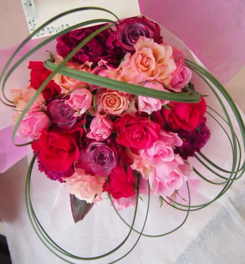 花ギフト|フラワーギフト|誕生日 花|カノシェ話題|スタンド花|ウエディングブーケ|花束|花屋|46016