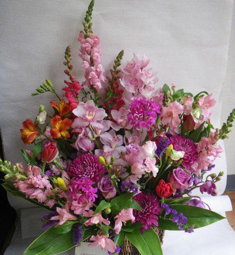 花ギフト フラワーギフト 誕生日 花 カノシェ話題 スタンド花 ウエディングブーケ 花束 花屋 ayup