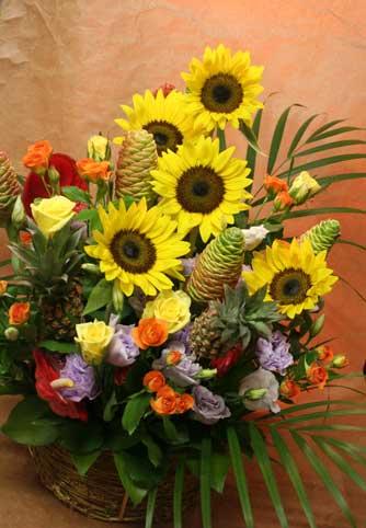 花ギフト|フラワーギフト|誕生日 花|カノシェ話題|スタンド花|ウエディングブーケ|花束|花屋|ひまわり タム
