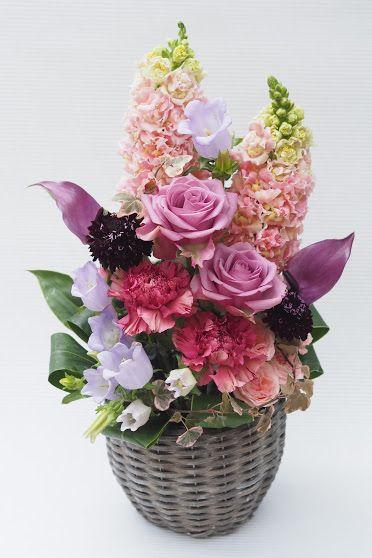 花ギフト|フラワーギフト|誕生日 花|カノシェ話題|スタンド花|ウエディングブーケ|花束|花屋|2016_haha_a2