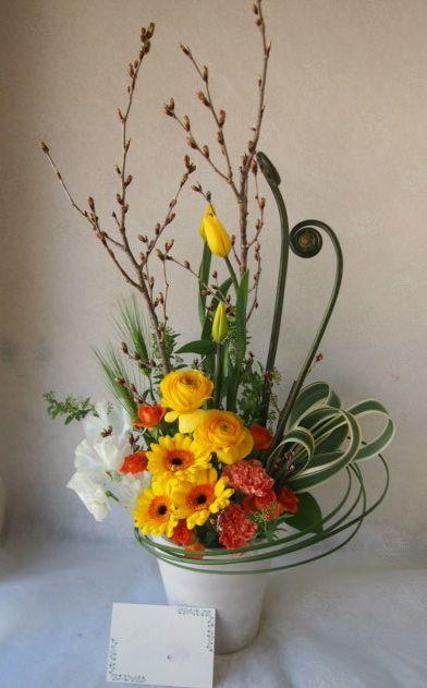 花ギフト|フラワーギフト|誕生日 花|カノシェ話題|スタンド花|ウエディングブーケ|花束|花屋|54400