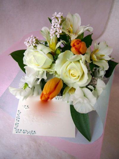 花ギフト|フラワーギフト|誕生日 花|カノシェ話題|スタンド花|ウエディングブーケ|花束|花屋|100109(1)