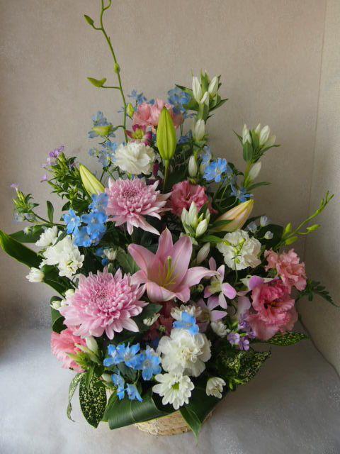 花ギフト|フラワーギフト|誕生日 花|カノシェ話題|スタンド花|ウエディングブーケ|花束|花屋|57693
