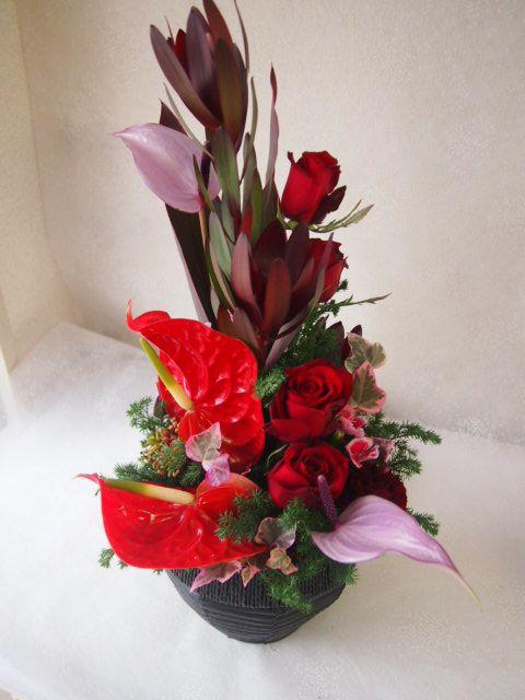 花ギフト|フラワーギフト|誕生日 花|カノシェ話題|スタンド花|ウエディングブーケ|花束|花屋|52386