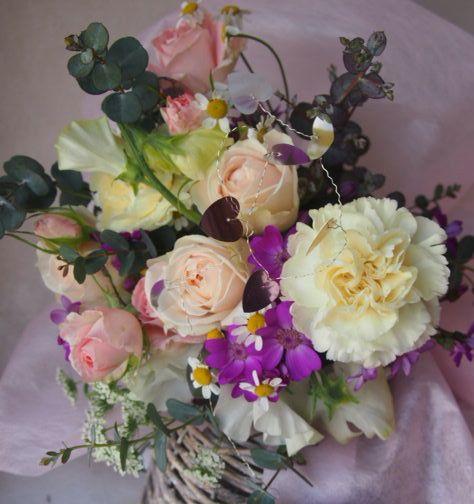 花ギフト|フラワーギフト|誕生日 花|カノシェ話題|スタンド花|ウエディングブーケ|花束|花屋|46411
