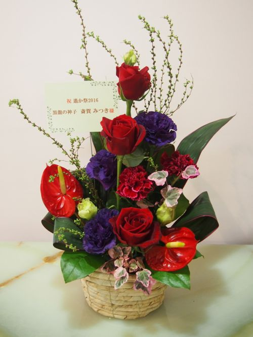 花ギフト|フラワーギフト|誕生日 花|カノシェ話題|スタンド花|ウエディングブーケ|花束|花屋|54502