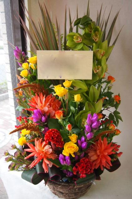 花ギフト|フラワーギフト|誕生日 花|カノシェ話題|スタンド花|ウエディングブーケ|花束|花屋|43182