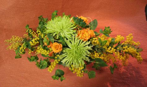 花ギフト|フラワーギフト|誕生日 花|カノシェ話題|スタンド花|ウエディングブーケ|花束|花屋|まつはしさんミモザ