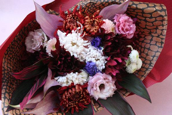 花ギフト|フラワーギフト|誕生日 花|カノシェ話題|スタンド花|ウエディングブーケ|花束|花屋|t-3