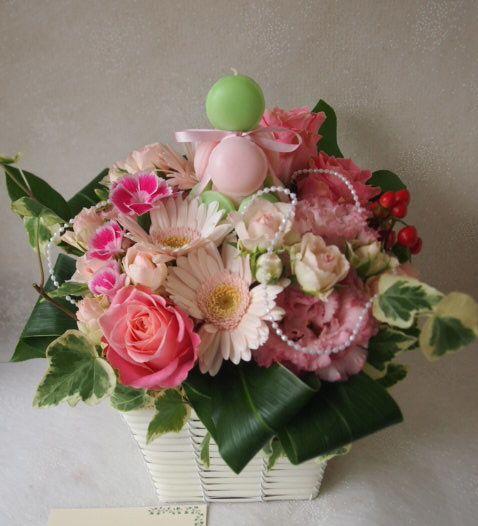 花ギフト|フラワーギフト|誕生日 花|カノシェ話題|スタンド花|ウエディングブーケ|花束|花屋|56481