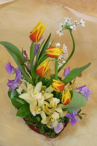 花ギフト|フラワーギフト|誕生日 花|カノシェ話題|スタンド花|ウエディングブーケ|花束|花屋|とんがり1
