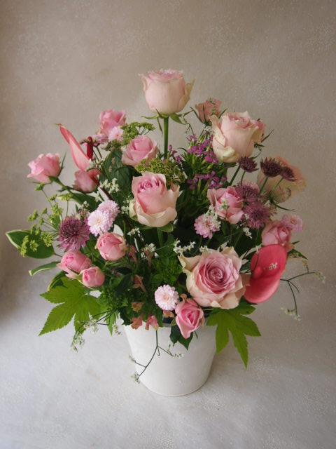 花ギフト|フラワーギフト|誕生日 花|カノシェ話題|スタンド花|ウエディングブーケ|花束|花屋|563361