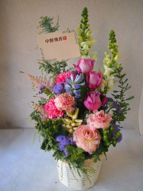 花ギフト|フラワーギフト|誕生日 花|カノシェ話題|スタンド花|ウエディングブーケ|花束|花屋|52264-1