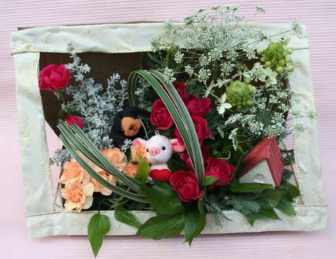 花ギフト|フラワーギフト|誕生日 花|カノシェ話題|スタンド花|ウエディングブーケ|花束|花屋|IMG_5332