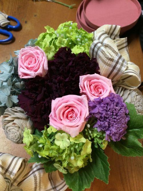 花ギフト|フラワーギフト|誕生日 花|カノシェ話題|スタンド花|ウエディングブーケ|花束|花屋|IMG_4974