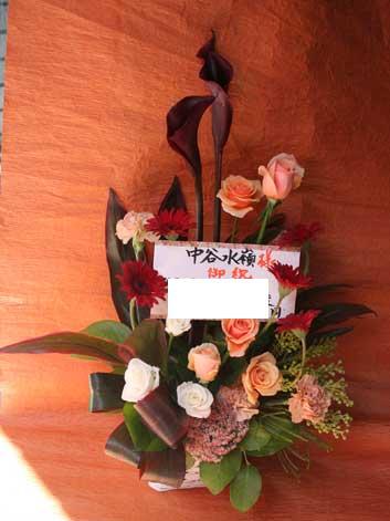 花ギフト フラワーギフト 誕生日 花 カノシェ話題 スタンド花 ウエディングブーケ 花束 花屋 black