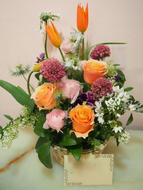 花ギフト|フラワーギフト|誕生日 花|カノシェ話題|スタンド花|ウエディングブーケ|花束|花屋|54293