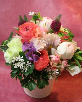 花ギフト|フラワーギフト|誕生日 花|カノシェ話題|スタンド花|ウエディングブーケ|花束|花屋|IMG_6113