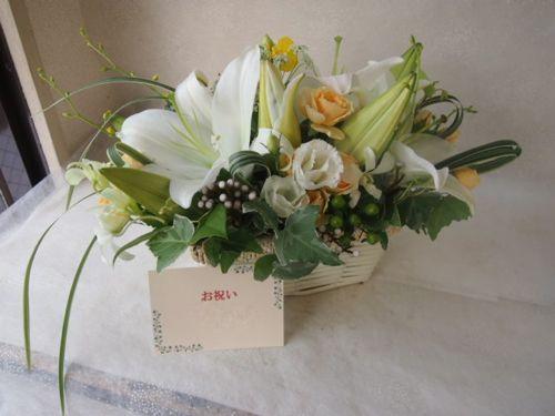 花ギフト|フラワーギフト|誕生日 花|カノシェ話題|スタンド花|ウエディングブーケ|花束|花屋|50340