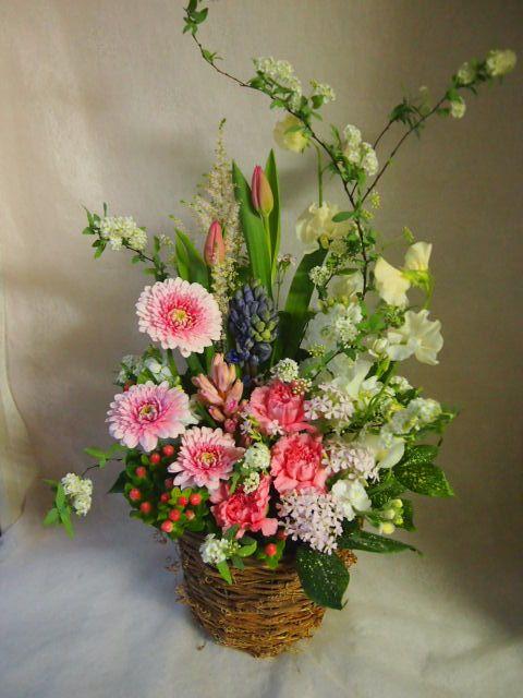 花ギフト|フラワーギフト|誕生日 花|カノシェ話題|スタンド花|ウエディングブーケ|花束|花屋|45484