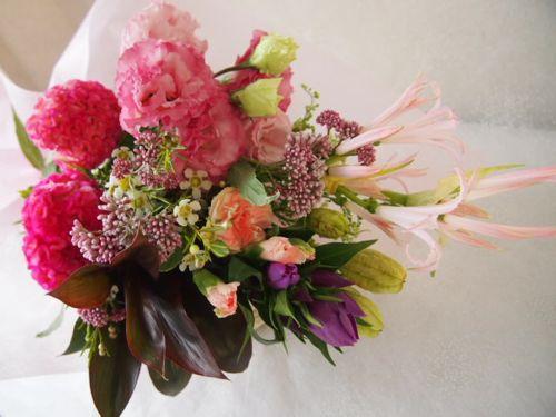 花ギフト|フラワーギフト|誕生日 花|カノシェ話題|スタンド花|ウエディングブーケ|花束|花屋|58061