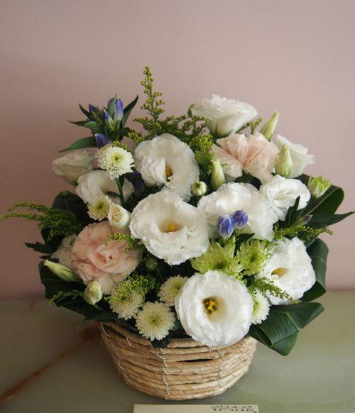 花ギフト|フラワーギフト|誕生日 花|カノシェ話題|スタンド花|ウエディングブーケ|花束|花屋|57681
