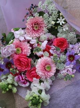 花ギフト|フラワーギフト|誕生日 花|カノシェ話題|スタンド花|ウエディングブーケ|花束|花屋|2014_w_b1