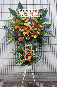 花ギフト フラワーギフト 誕生日 花 カノシェ話題 スタンド花 ウエディングブーケ 花束 花屋 2dan-j
