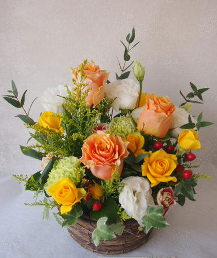 花ギフト|フラワーギフト|誕生日 花|カノシェ話題|スタンド花|ウエディングブーケ|花束|花屋|56097