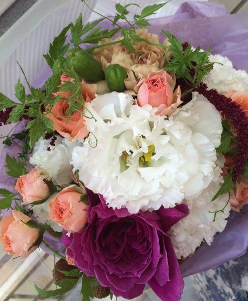 花ギフト|フラワーギフト|誕生日 花|カノシェ話題|スタンド花|ウエディングブーケ|花束|花屋|IMG_7248