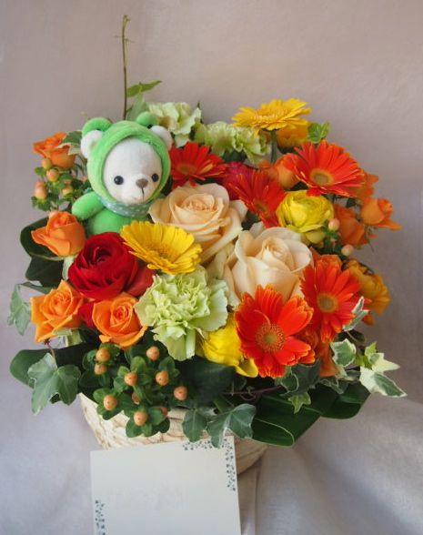 花ギフト|フラワーギフト|誕生日 花|カノシェ話題|スタンド花|ウエディングブーケ|花束|花屋|46129