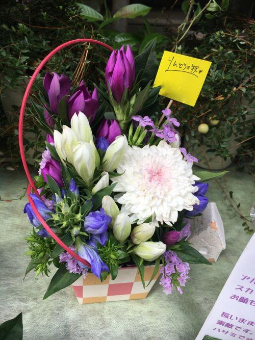 花ギフト|フラワーギフト|誕生日 花|カノシェ話題|スタンド花|ウエディングブーケ|花束|花屋|IMG_3935