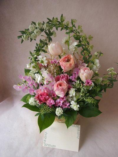 花ギフト|フラワーギフト|誕生日 花|カノシェ話題|スタンド花|ウエディングブーケ|花束|花屋|38409
