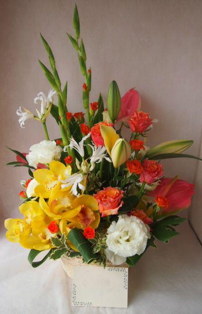 花ギフト|フラワーギフト|誕生日 花|カノシェ話題|スタンド花|ウエディングブーケ|花束|花屋|43517