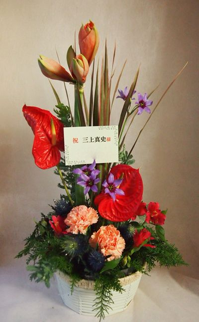 花ギフト|フラワーギフト|誕生日 花|カノシェ話題|スタンド花|ウエディングブーケ|花束|花屋|37588