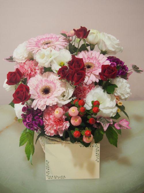 花ギフト|フラワーギフト|誕生日 花|カノシェ話題|スタンド花|ウエディングブーケ|花束|花屋|55975