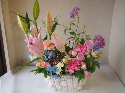 花ギフト|フラワーギフト|誕生日 花|カノシェ話題|スタンド花|ウエディングブーケ|花束|花屋|55866