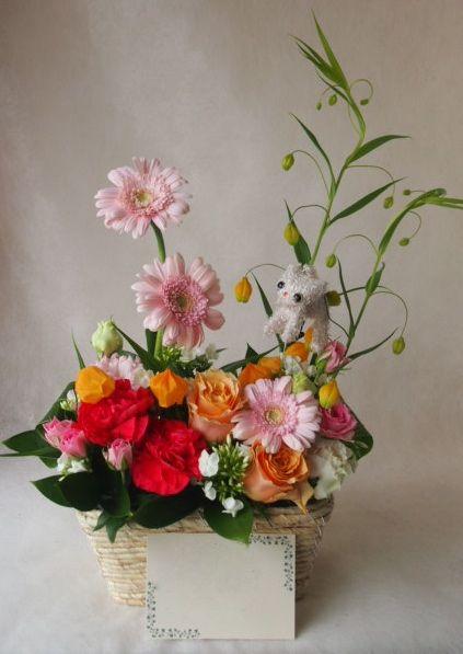 花ギフト|フラワーギフト|誕生日 花|カノシェ話題|スタンド花|ウエディングブーケ|花束|花屋|41743