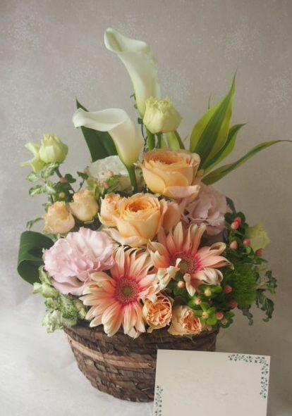 花ギフト|フラワーギフト|誕生日 花|カノシェ話題|スタンド花|ウエディングブーケ|花束|花屋|48508