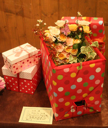 花ギフト|フラワーギフト|誕生日 花|カノシェ話題|スタンド花|ウエディングブーケ|花束|花屋|hitomi-ribon