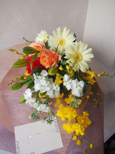 花ギフト|フラワーギフト|誕生日 花|カノシェ話題|スタンド花|ウエディングブーケ|花束|花屋|52270