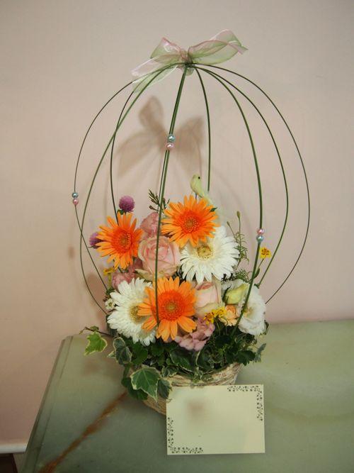 花ギフト|フラワーギフト|誕生日 花|カノシェ話題|スタンド花|ウエディングブーケ|花束|花屋|58473